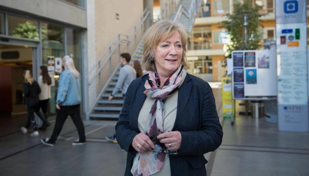 Annik Magerholm Fet, viserektor ved NTNU i Ålesund, mener det skjer mye i Trondheim som legger føringer for Gjøvik og Ålesund uten at de får sagt sin mening.