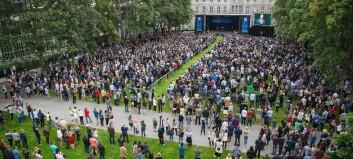Rekordmange har fått tilbud om studieplass ved NTNU
