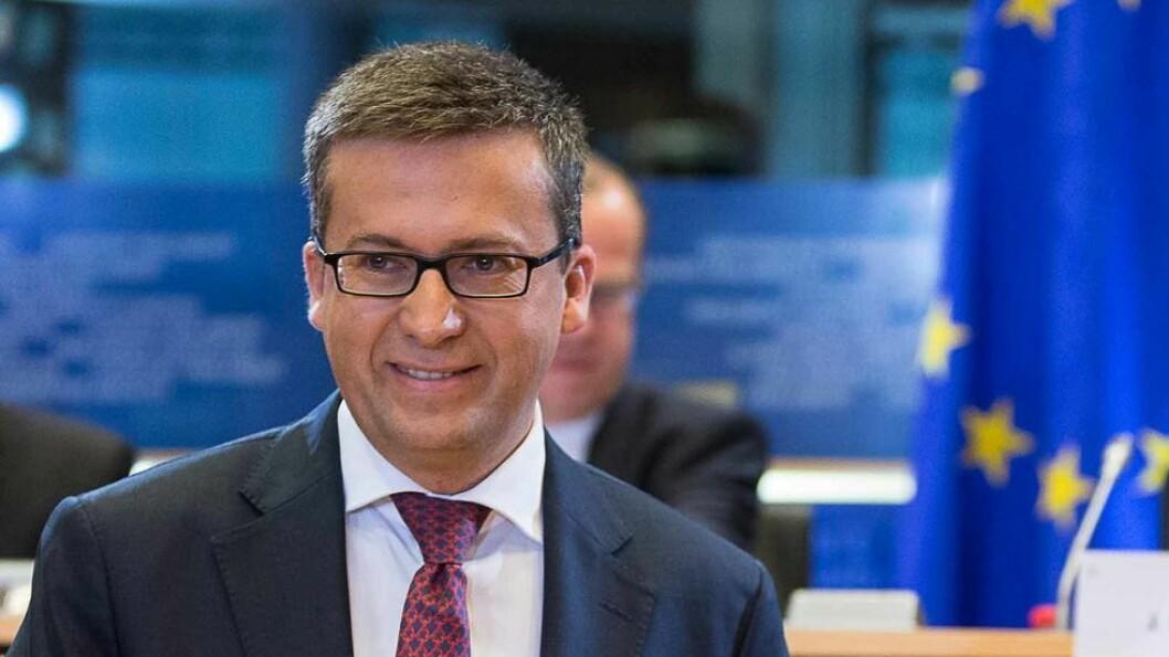 Carlos Moedas har blant annet ansvar for den enorme pengesekken som utgjør verdens største program for innovasjon og forskning, Horisont 2020.