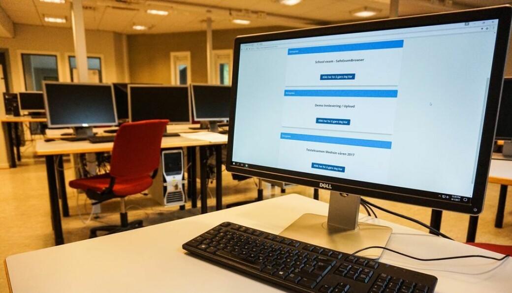 Inspera er verktøyet NTNU benytter for majoriteten av sine eksamener.