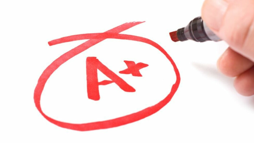 I tillegg til å forberede seg godt, henger en god karakter i muntlig eksamen også sammen med at du klarer å holde nervøsiteten litt i sjakk, slik at du får vist det du kan. Illustrasjonsbilde.