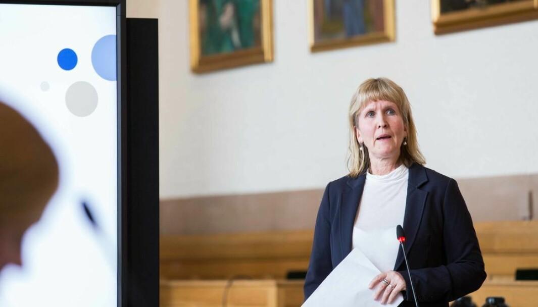 Det blir adgang til å være på campus for vaksinerte. Hvordan de blir til høsten, må avklares, opplyser Ida Munkeby.
