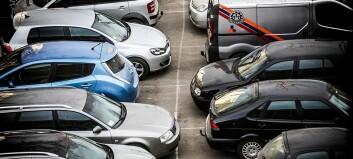 Rundt 300 personer kan fremdeles parkere gratis ved NTNUs campuser i Trondheim