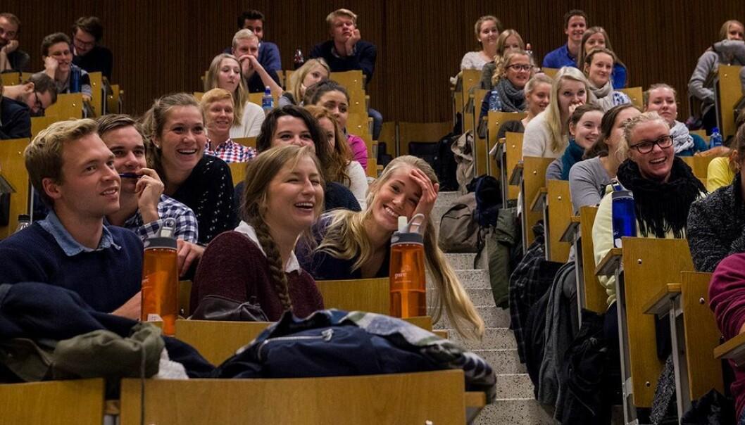 Illustrasjonsfoto fra forelesning før korona.