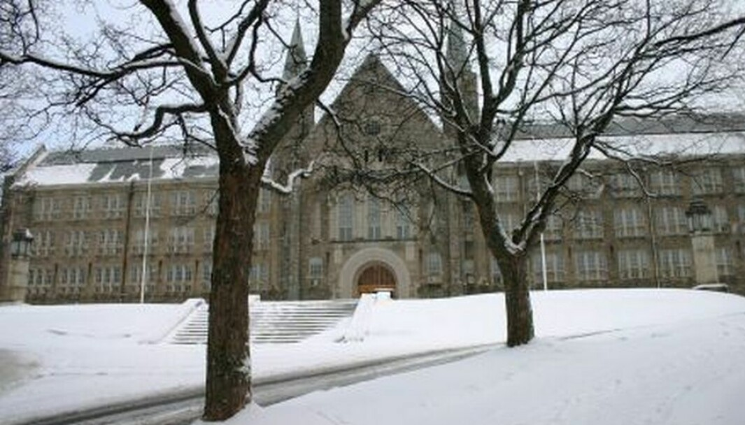 Det blir stille på campusene i Trondheim igjen. Her fra én av dem, Gløshaugen.