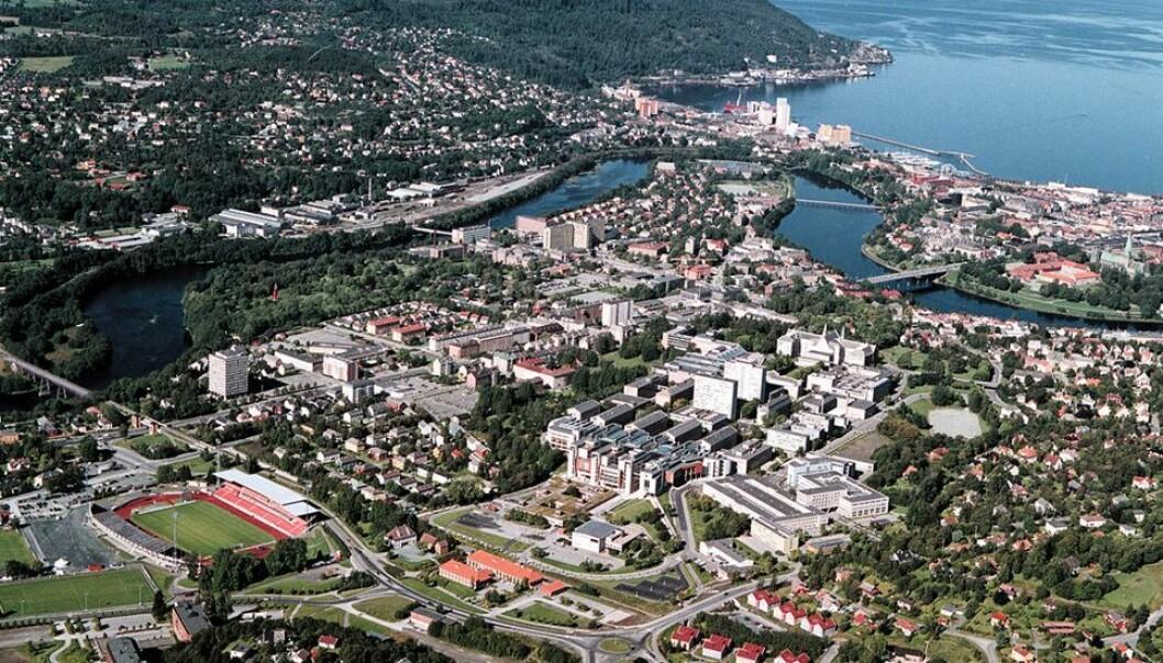 NTNU melder mandag om strømbrudd på campus Gløshaugen.