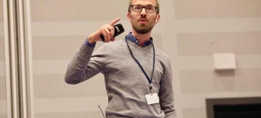 Tobias Slørdahl får pris for fremragende undervisning