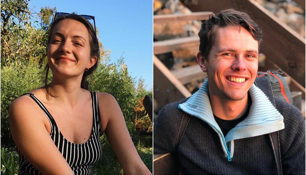 Sunniva Skurtveit og Erik Ettner Sanne er to av nesten 600 studenter i Trondheim som ønsker å bli spleiset med andre.