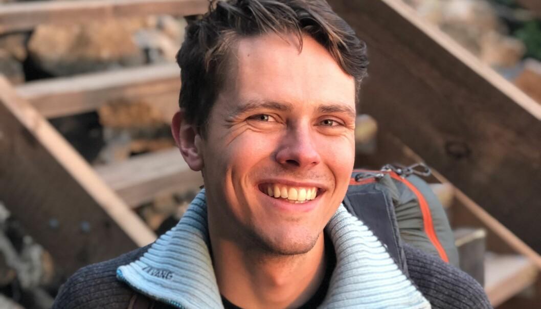 Erik Ettner Sanne vil gjerne bli kjent med flere studenter.
