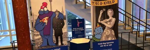 Trondheim kommune fjerner anbefaling om munnbind på campus