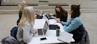Inntekt gjennom jobb står for økende del av studenters inntekter