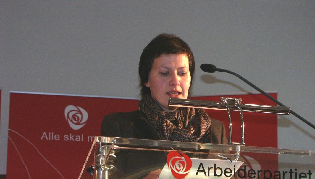 Helga Pedersen var i mange år nestleder i Arbeiderpartiet og fiskeri- og kystminister i årene 2005-09. I dager hun ordfører i Tana (arkivfoto).