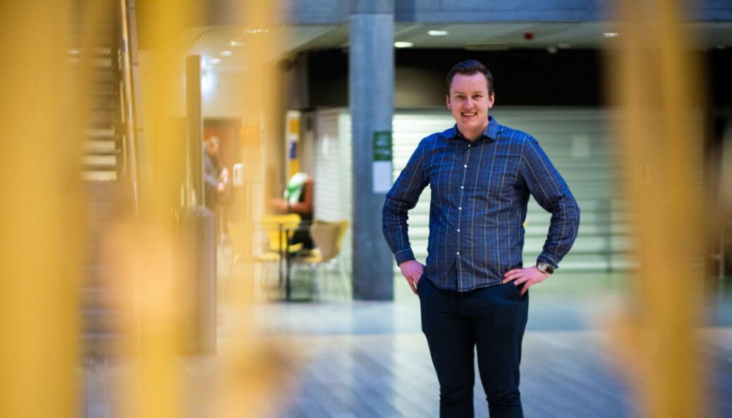 Leder for Studenttinget Andreas Knudsen Sund er fornøyd med at vedtaket de fremmet ble plukket opp i formannskapet.