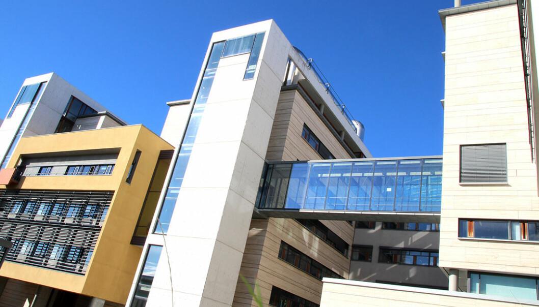 NV-fakultetet holder til i Realfagbygget.