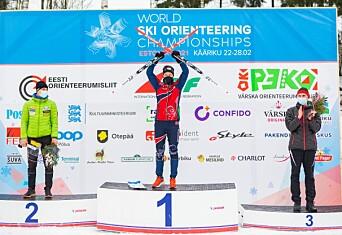 NTNU-studenter tok VM-gull i skiorientering