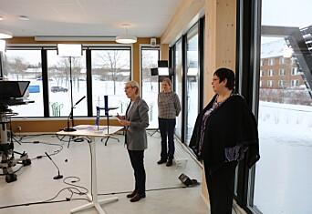 Nå er dette nye bygget på Gløshaugen åpnet