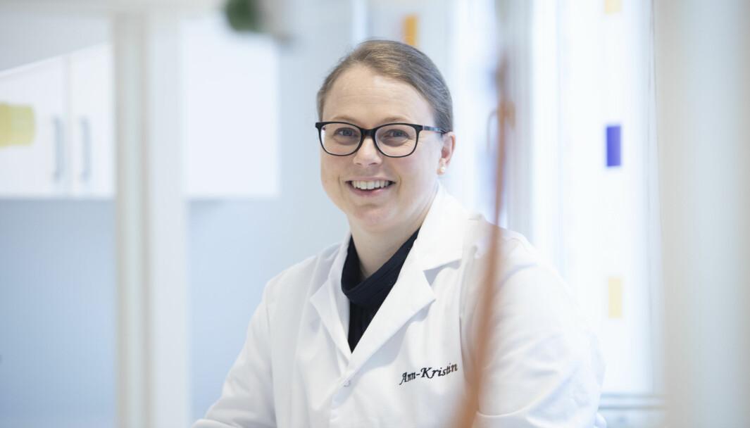 Ann-Kristin Tveten forteller om et vellykket samarbeid mellom universitet og næringsliv.