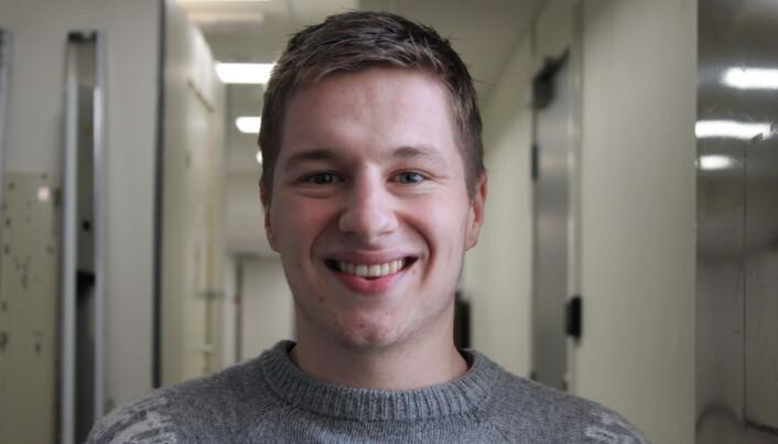 Lærerstudent Herman Nesse var blant dem som måtte gjennomføre fjorårets praksisperiode digitalt.