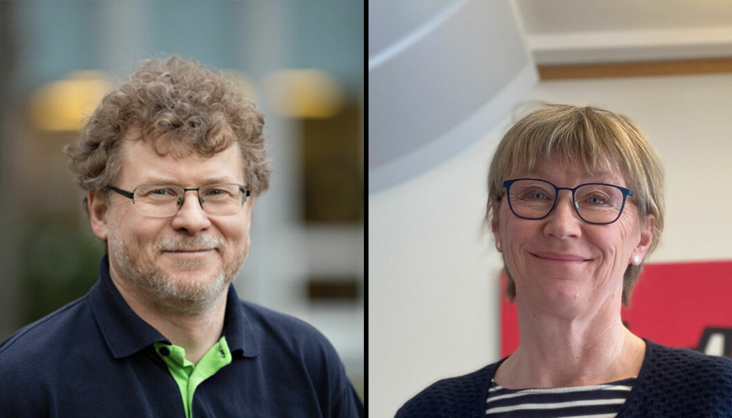 To ut av rekka går: John Krogstie og Margrethe Aune ble først godkjent som styrekandidater, men så oppdaget valgstyret at de ikke er valgbare siden de i dag er instituttledere.