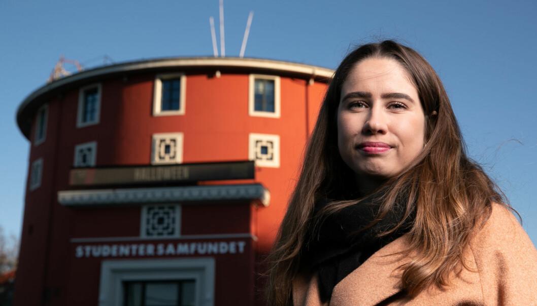 Karen Mjør er leiar for Studentersamfundet i Trondhjem.