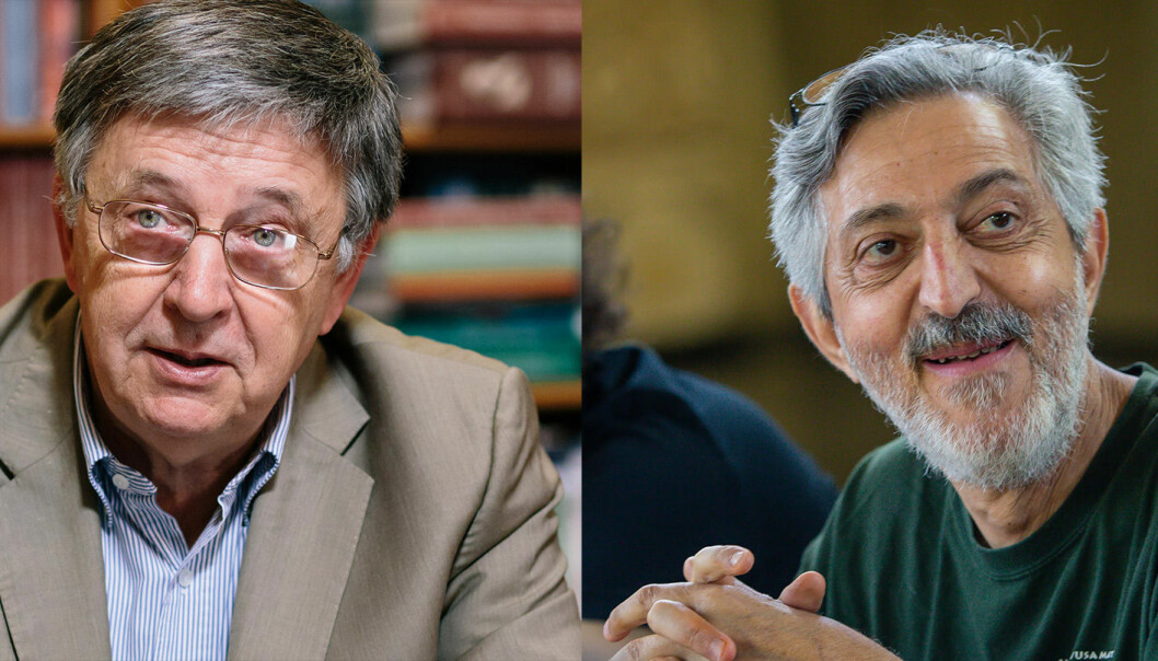László Lovász og Avi Wigderson deler årets Abelpris.