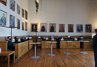 Styrevalget: Oppslutning på det jevne