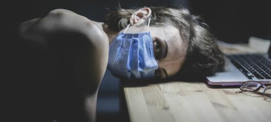 Utbredt i akademia: «Pandemic burnout»