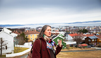 Line Vaarum bor i nærheten av Tyholttunet barnehage, som vil havne mye i skyggen når Ocean Space Centre er ferdigstilt.