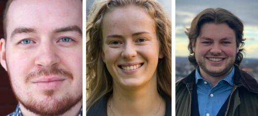 Tre kandidater stiller til ledervalget i NSO