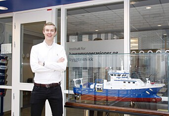 NTNU-studenten i Ålesund fikk stort stipend for å finansiere sin forkjærlighet for havet
