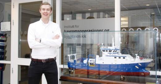 Fikk stort stipend for å finansiere shippingstudier