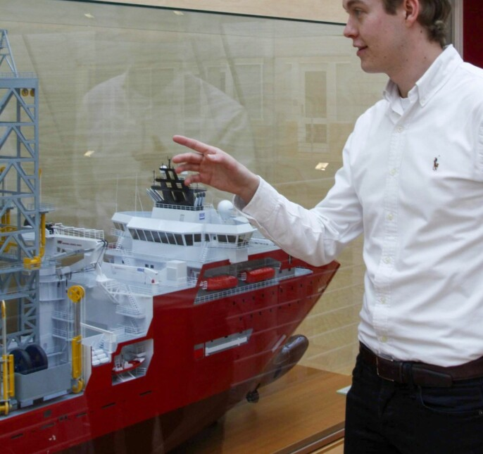I Ålesund har NTNU rett ved kontorene til flere store maritime aktører.