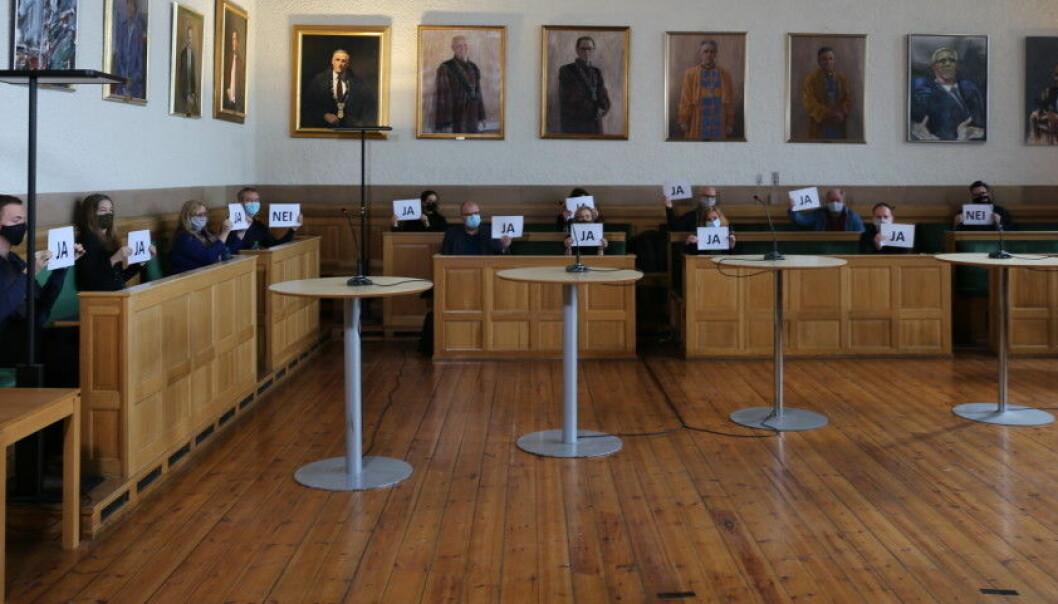 Engasjert valgkamp før styrevalget, men problemenene oppsto da et par kandidater fortsatte valgkampen under selve valget.