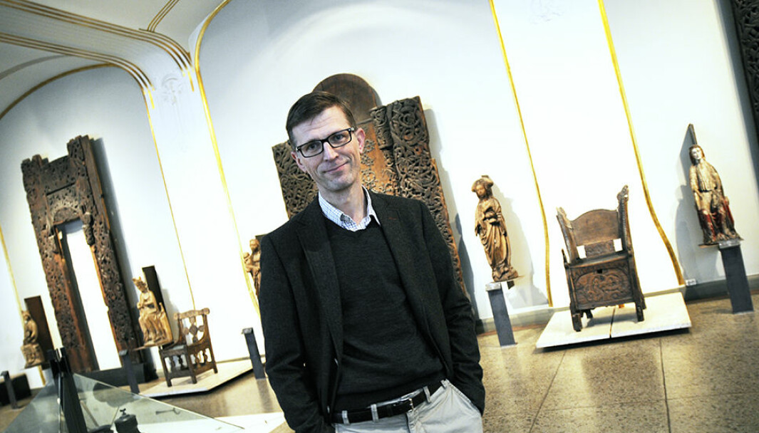 Håkon Glørstad, direktør ved Kulturhistorisk museum, sier det ligger mye uutnyttet potensial for forskning og utdanning i museumssektoren.