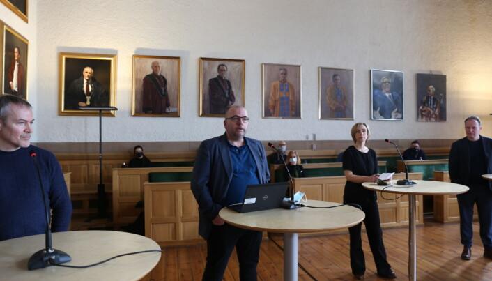 Arve Hjelseth er nytt medlem av ansettelsesutvalget ved SU-fakultetet