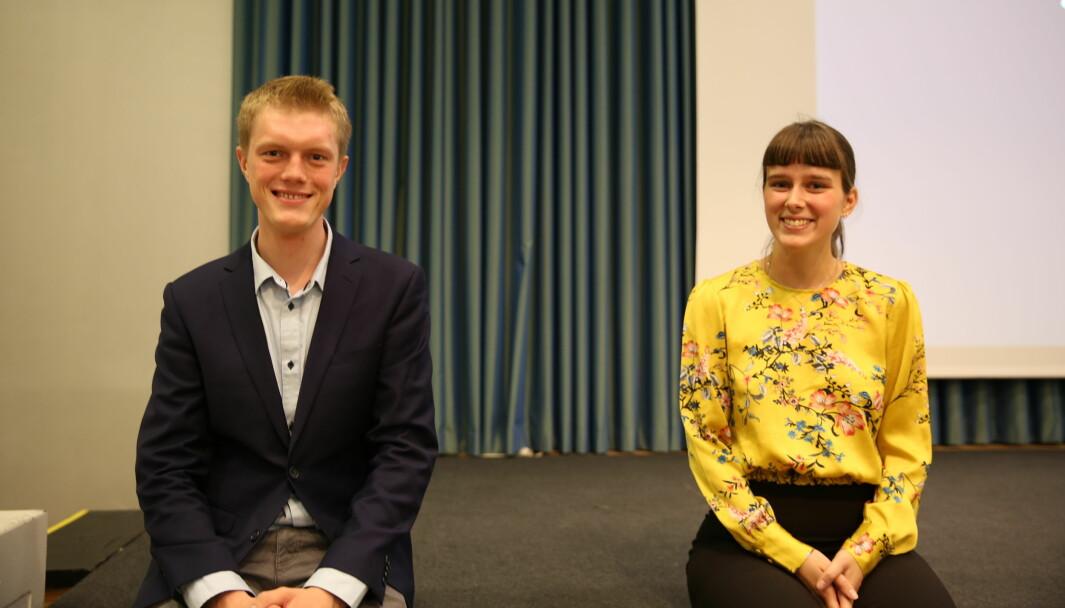Simen Ringdahl er valgstyreleder for studentvalget og kan ikke bekrefte overfor Khrono at det blir omvalg. Sammen med Mathilde Sjøhelle Eiksund har han representert studentene i NTNU-styret det siste året. Nå er det foreløpig usikkert hvem de to nye studentene blir.