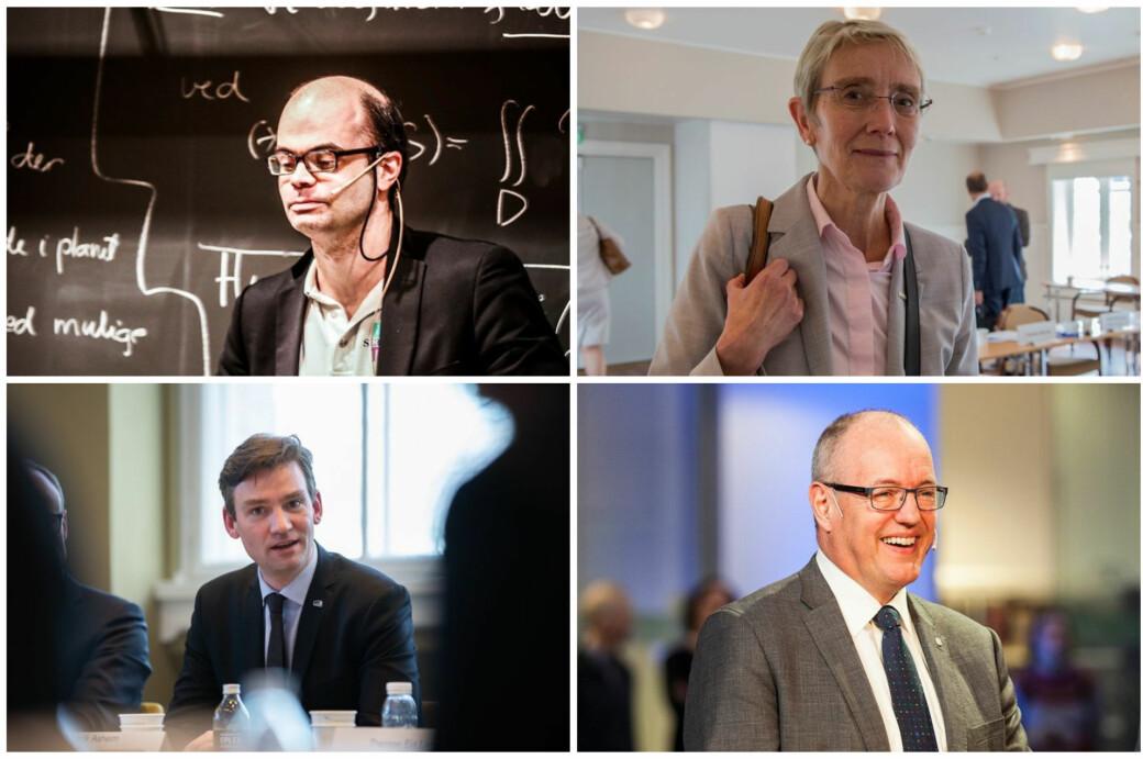 Hans Olav Lahlum, Anne Borg, Henrik Asheim og Gunnar Bovim valgte alle svært ulike veier for å komme seg til ulike steder.