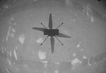 Den første flyturen på en annen planet