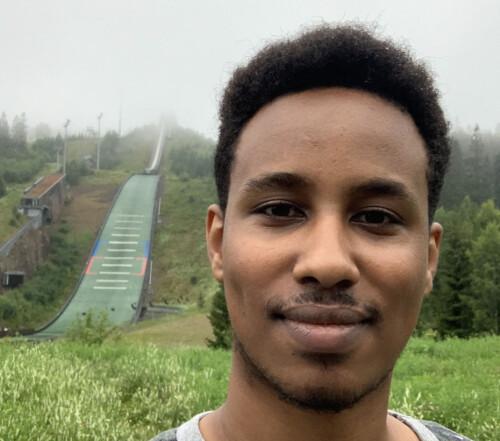 Guled Yusuf Mohamud er en av NTNUs to kandidater til NSOs sentralstyre. Han er også representant for Trondheim i Studenttinget NTNU.