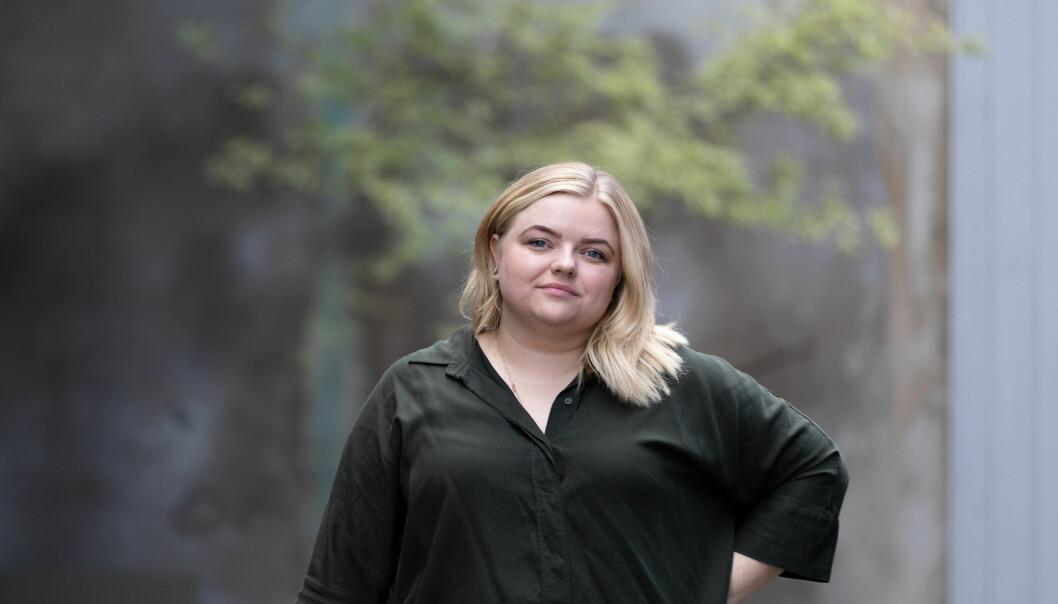 Leder i Pedagogstudentene Elise Håkull Klungtveit sier lærerne i mange år har vært lønnstapere.