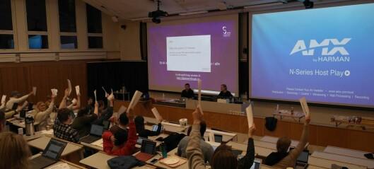 Tomme anklager om at Studenttinget viser en udemokratisk holdning