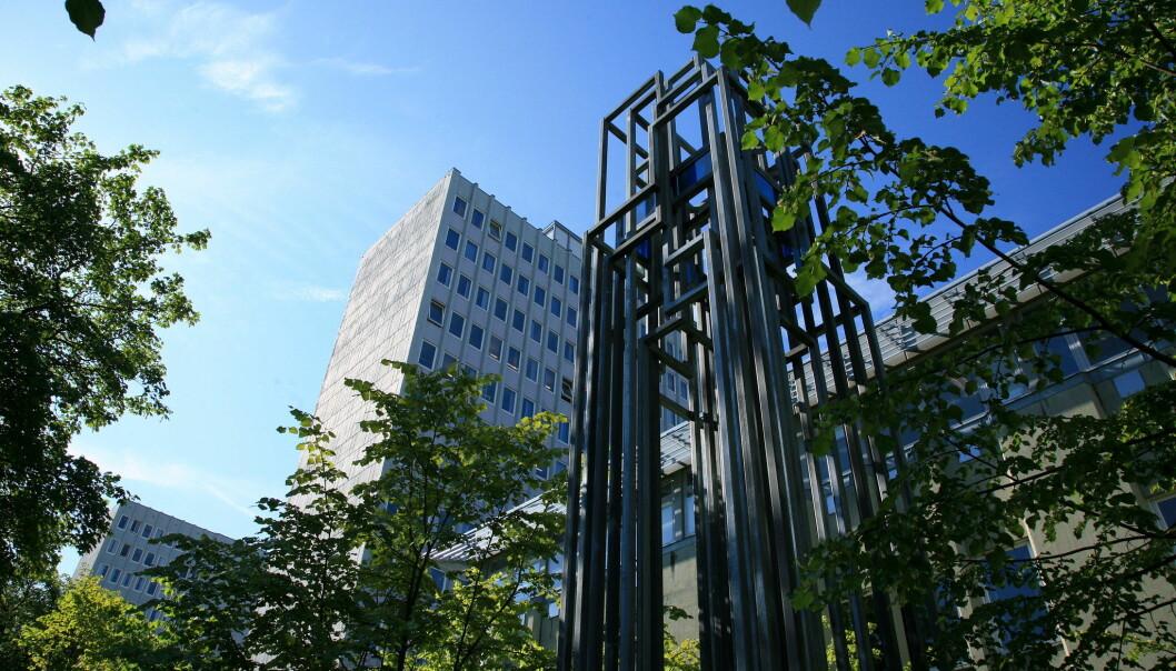 Fakultet for arkitektur og design holder til i et av høybyggene på Gløshaugen, i sentralbygg 1.