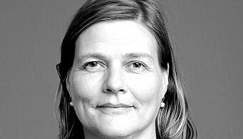 Marianne Skjulhaug er instituttleder ved Arkitektur- og designhøgskolen i dag.