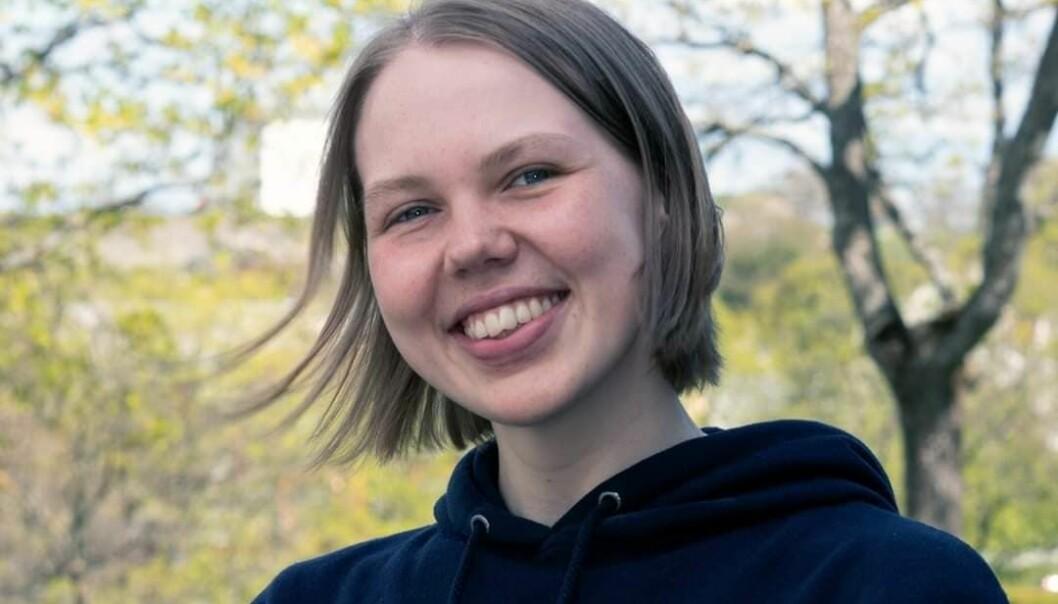 Ellinor Benedikte Anjali Lindström er påtroppende leder av Velferdstinget.