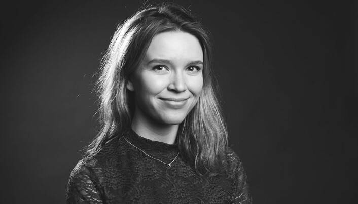 Anna Orvik Wilberg har en stilling som studentvert ved siden av studiene.