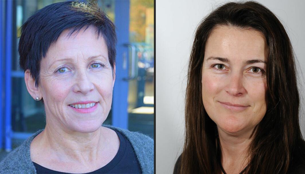 Ingrid Stenøien og Anne Berit Emstad ved Institutt for lærerutdanning