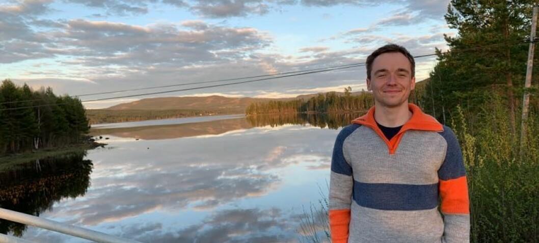 Eirik Nilsen ble beste student, fikk stor pengepremie