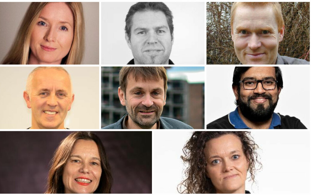 Kristin Y. Pettersen, Anders Rønnquist, Bendik Manum, Magnar Bjørås, Asgeir Tomasgard, Sulalit Bandyopadhyay, Letizia Jaccheri og Siv Gøril Brandtzæg får alle pris av NTNU.