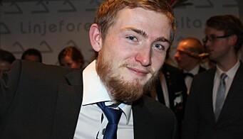 Jacob Fjeld Grevstad fortsetter ved NTNU til høsten, da som PhD-student.