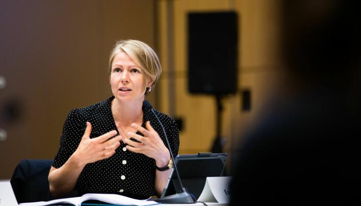 Representant for de midlertidig vitenskapelig ansatte Ingvill Stuvøy var kritisk til Strömmes uttalelser